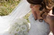 Bride-Flowers-LookDown